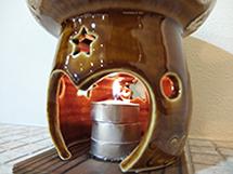 茶香炉から漂う自然な香り